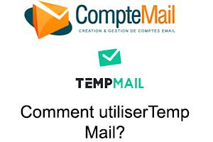 Temp-Mail : utilisation de l'adresse jetable