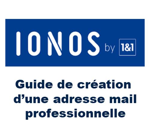 Créer un compte ionos webmail