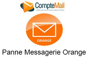 messagerie orange panne et problème de connexion