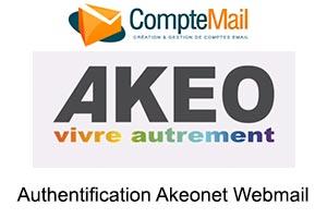 connexion sur Akeonet Webmail