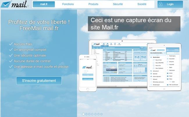 créer une adresse mail.fr