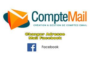 Changer adresse mail facebook sans mot de passe