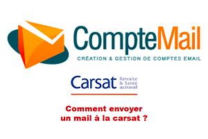 Contacter carsat par mail