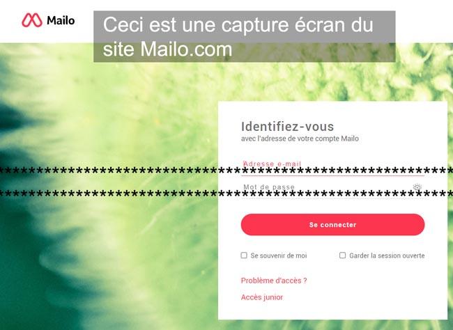 accéder à la messagerie Mailo Mail