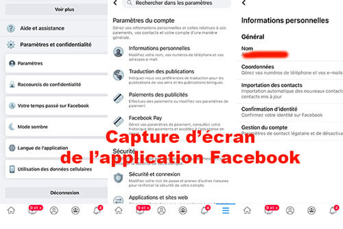 Modifier adresse mail principale Facebook