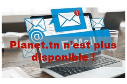 Login planet.tn mail