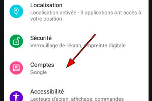 Supprimer un compte Gmail sur Xiaomi Mi 9