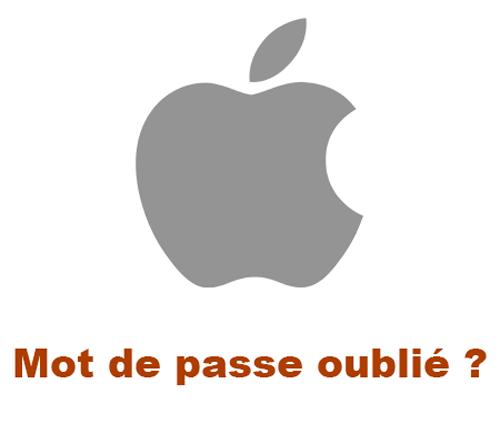 Changer mot de passe Apple