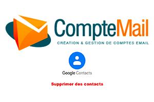 Comment supprimer un contact Gmail sur Android